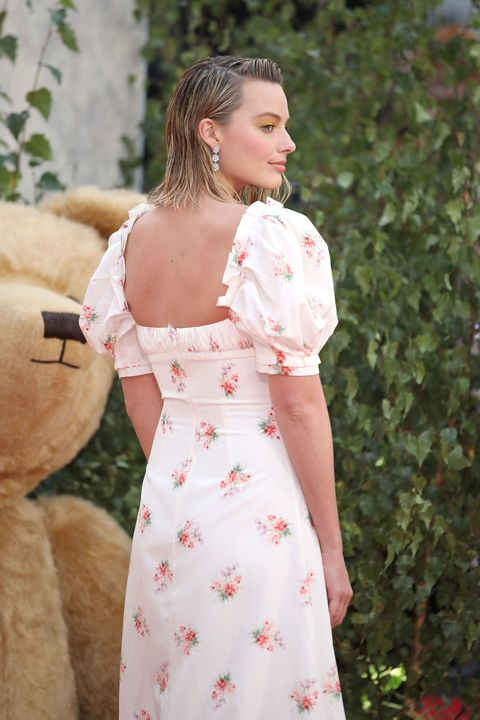 Margot Robbie Wears Brock Collection To The Goodbye