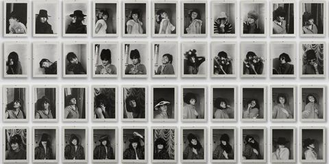 Renate Bertlmann, 'Verwandlungen' (Transformations), 1969/2013, 53 black and white photographs