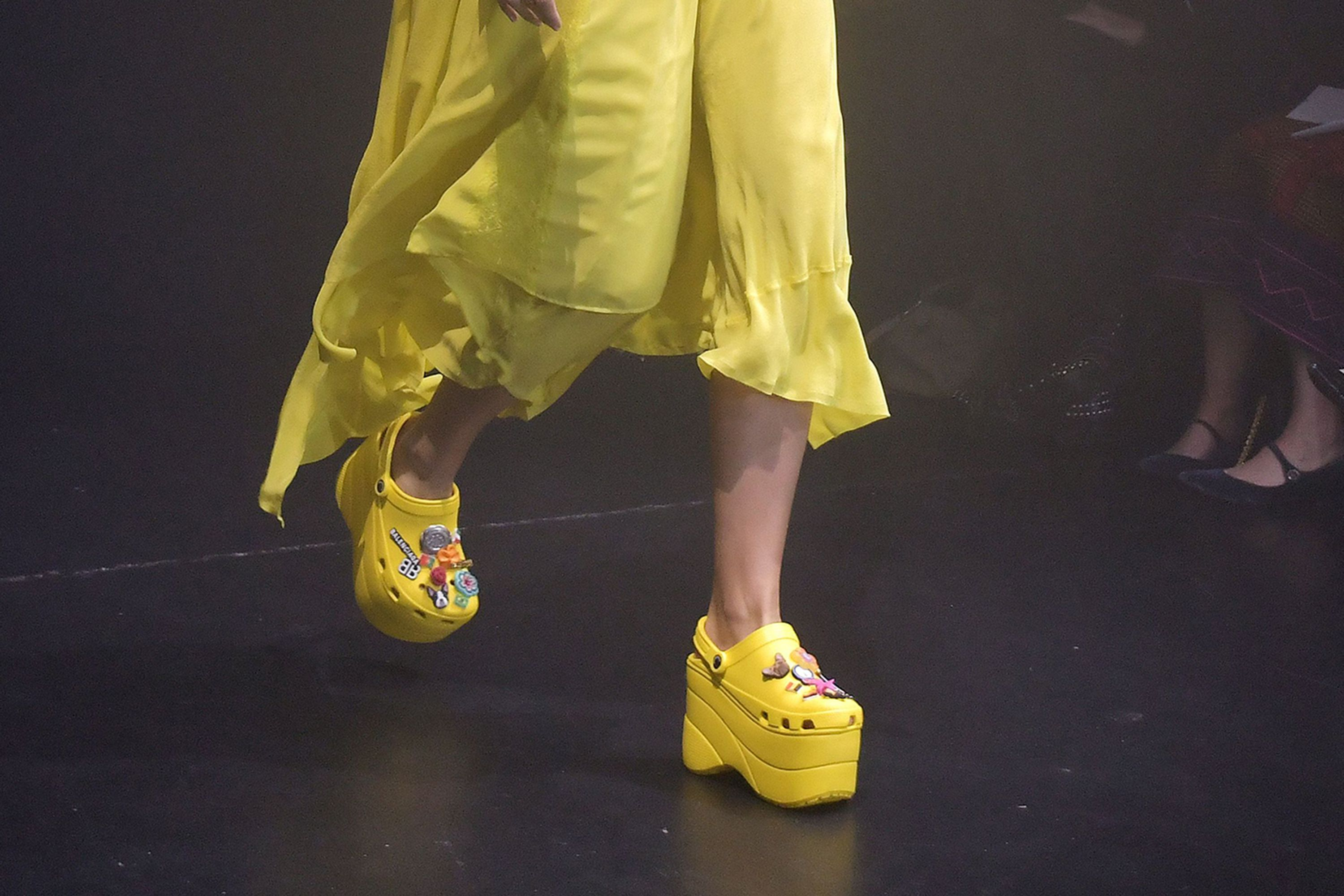 d3c3f7c78e7 Balenciaga s £600 platform Crocs sold out before they were even released