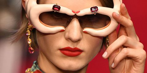 820321ea286c 15 of the most brilliantly bonkers accessories to grace the Dolce   Gabbana  catwalk
