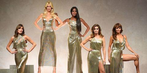 Supermodel skincare secrets versace