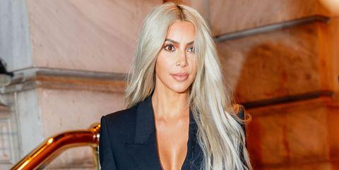 Clothing, Fashion model, Blond, Long hair, Shoulder, Fashion, Hairstyle, Outerwear, Leg, Blazer,