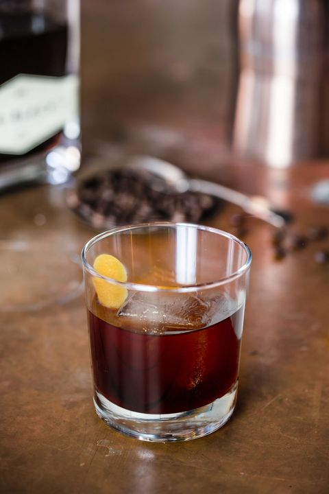 Coffee cocktails - Old Fashioned