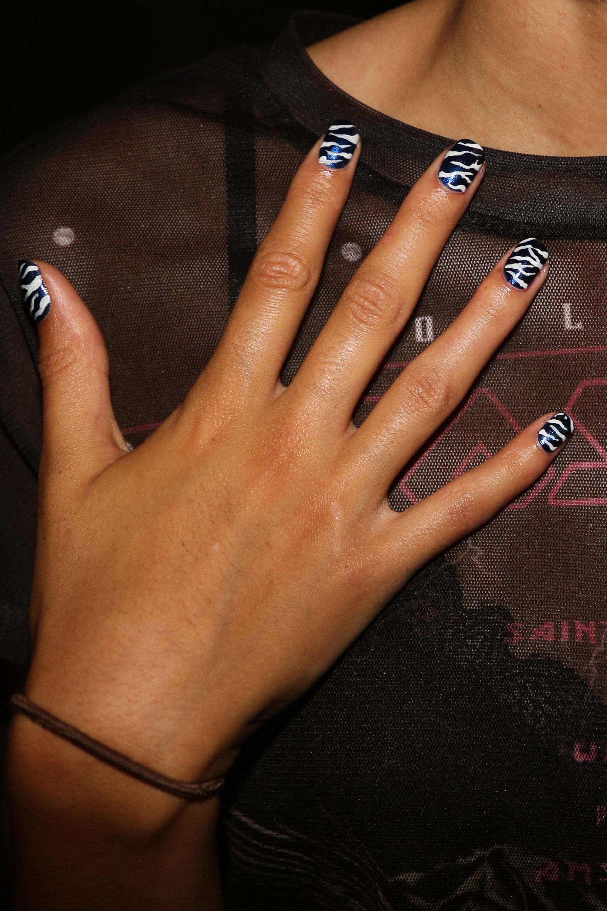 Springsummer 2018 nail trends nail trends from fashion week ss18 prinsesfo Gallery