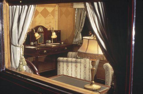 Interior design, Room, Property, Textile, Window treatment, Interior design, Curtain, Lamp, Classic, Window covering,