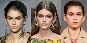 Kaia Gerber's best fashion week beauty looks