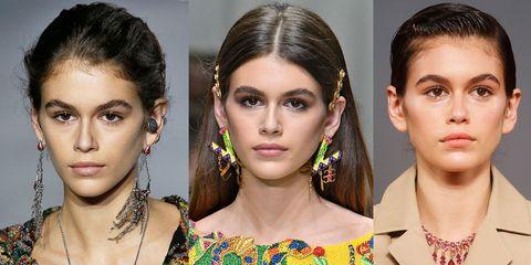Kaia Gerber's best fashion week beauty looks