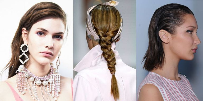 Hair Trends To Try From The Spring Summer 2018 Catwalk Shows