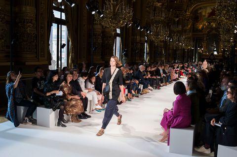Fashion, Runway, Fashion show, Event, Winter, Spring, Fur, Haute couture, Fun, Architecture,