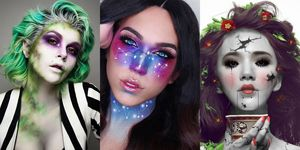 Pinterest Halloween makeup trends