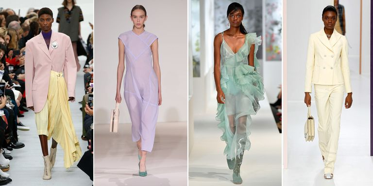 Pastel Fashion Trend Spring 2018 Ice Cream Colours Trend