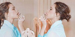 Victoria Beckham make-up