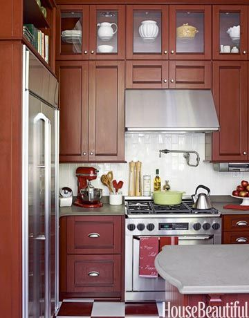 Small Kitchen Cabinets Design 30 Best Small Kitchen Design Ideas  Decorating Solutions For .