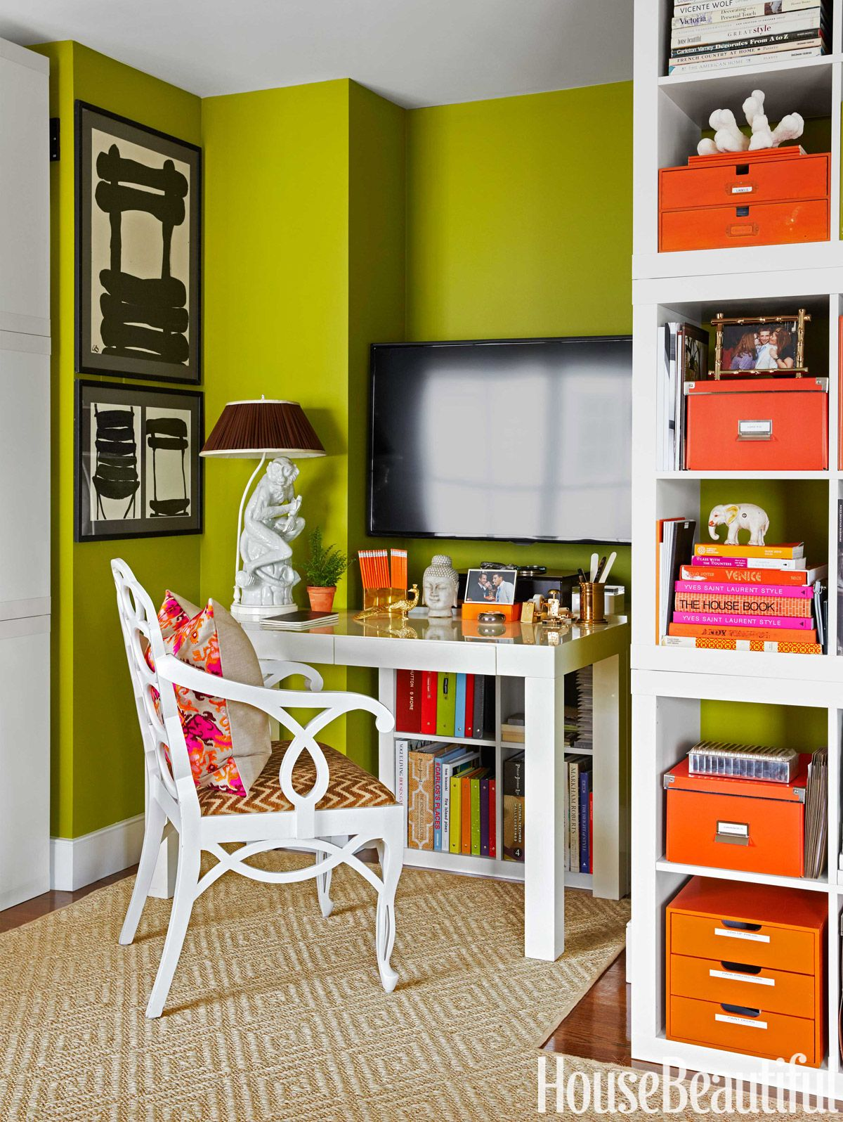 12 Home Office Organization Ideas