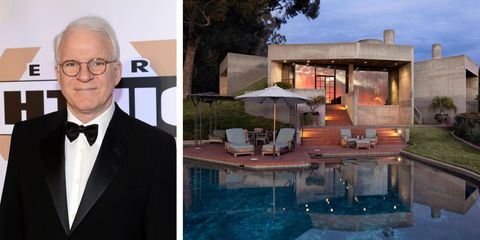 See Inside The Santa Barbara Mansion Steve Martin Is Selling
