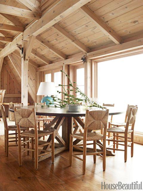 Wood, Room, Interior design, Furniture, Floor, Hardwood, Table, Ceiling, Chair, Flooring,