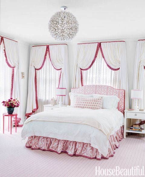 Bed, Room, Interior design, Bedding, Property, Bedroom, Textile, Bed sheet, Wall, Red,