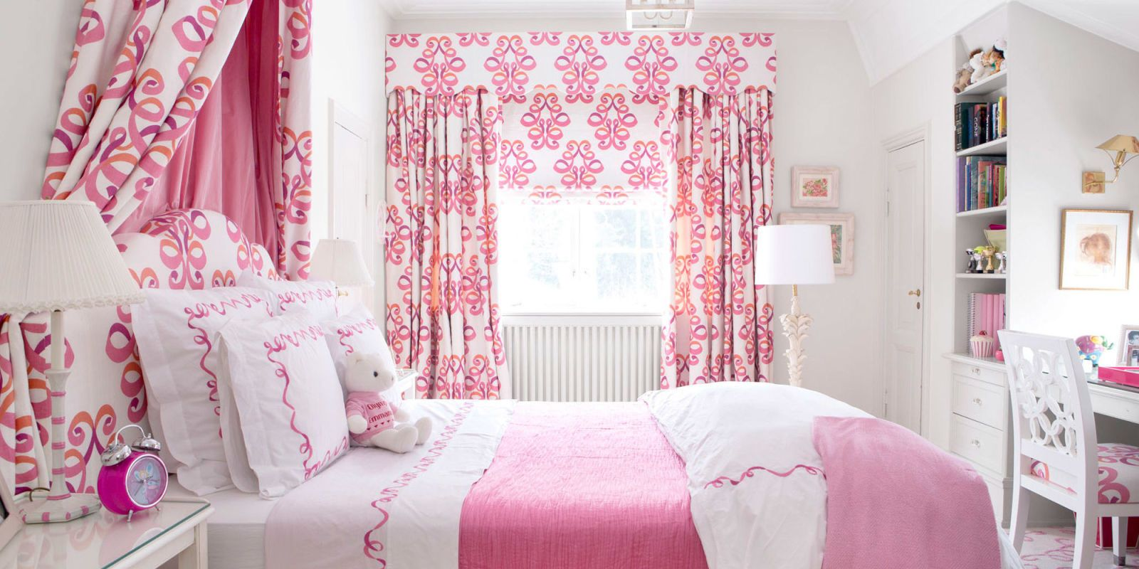 From Blush To Bubblegum, These Rooms Prove That Pink Is Fun, Flattering,  And Not Just For February 14th.