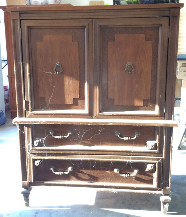 Before & After: A $30 Armoire Gets a Glam New Look