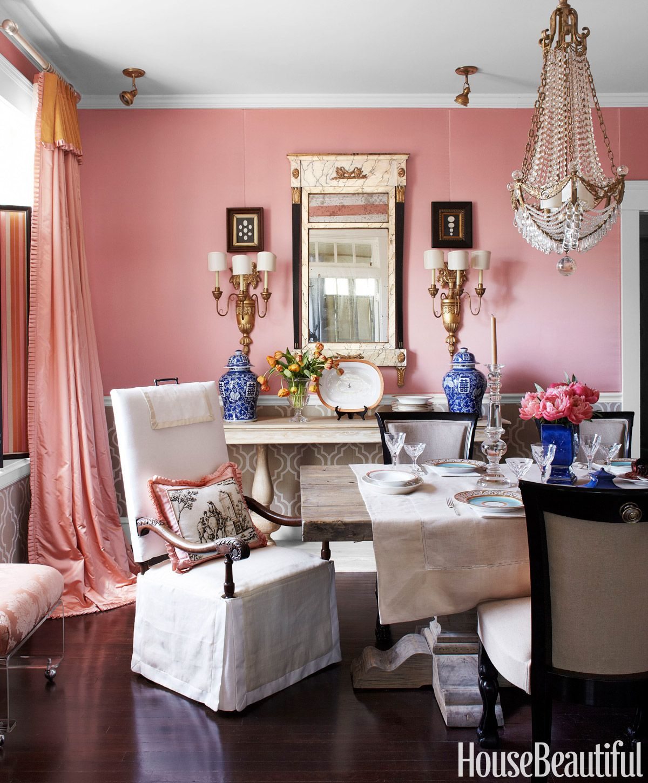 Bjorn Wallander. Pink Dining Room