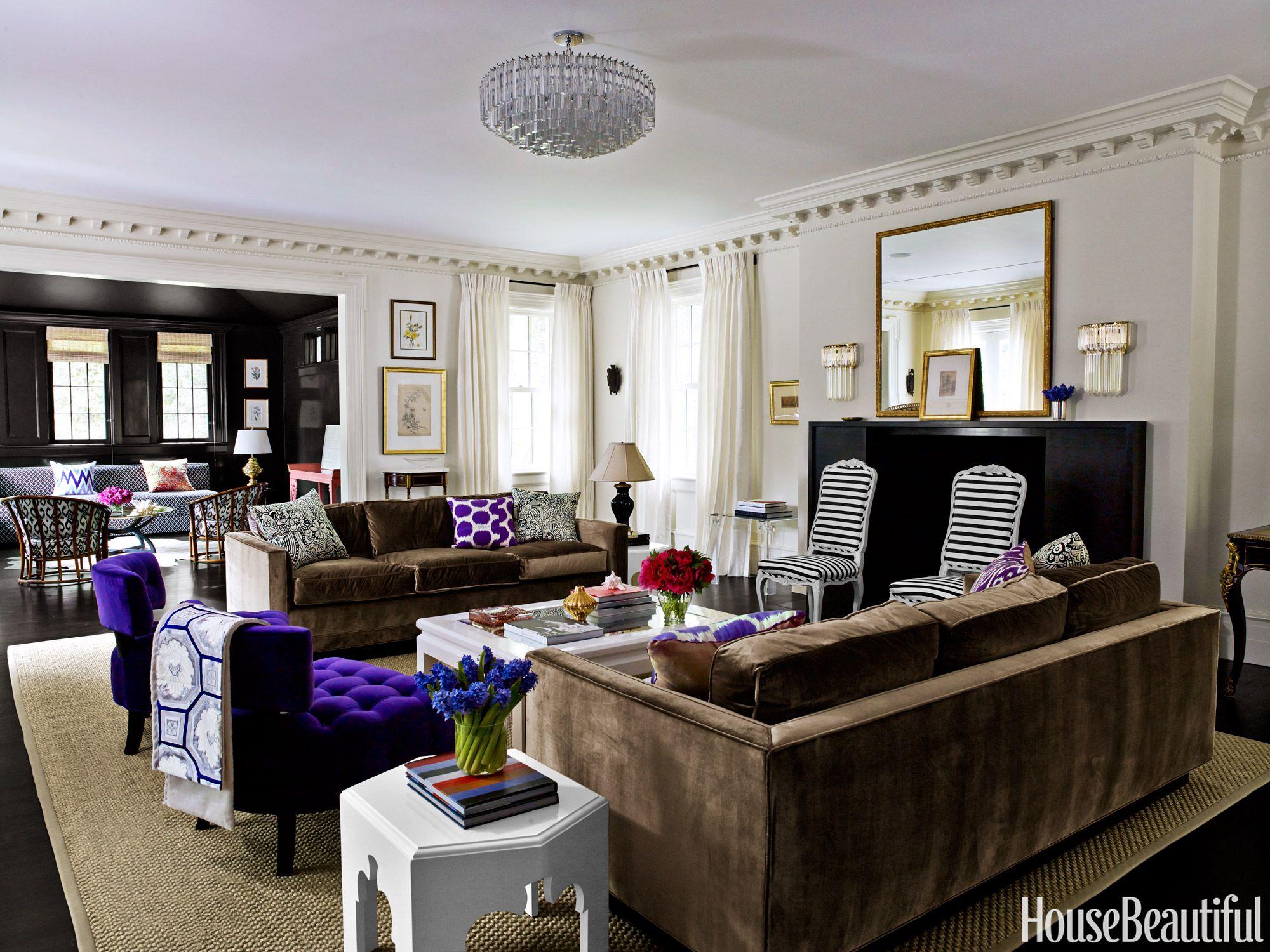purple house design mary mcgee interior design - Purple House Interior