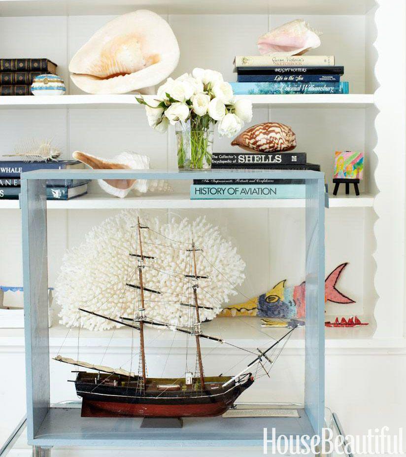 Nautical Home Decor   Ideas For Decorating Nautical Rooms   House Beautiful