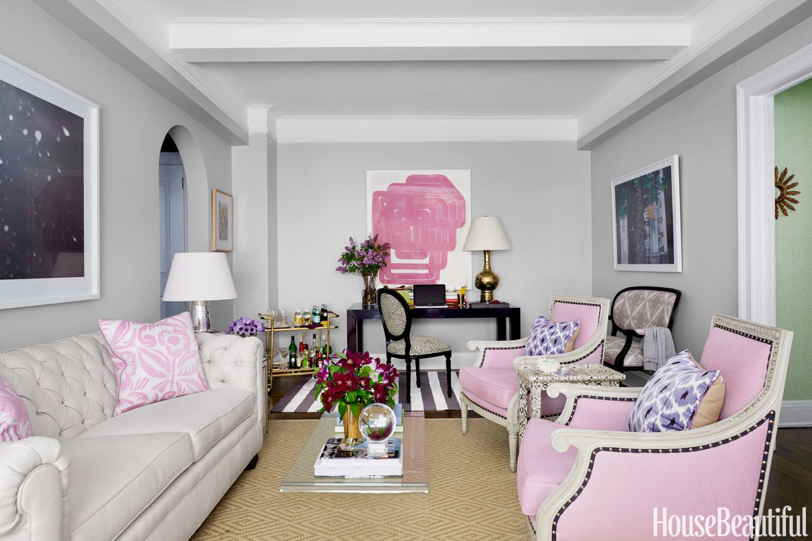 image & How to Decorate a Studio Apartment - Small Space Decorating Ideas