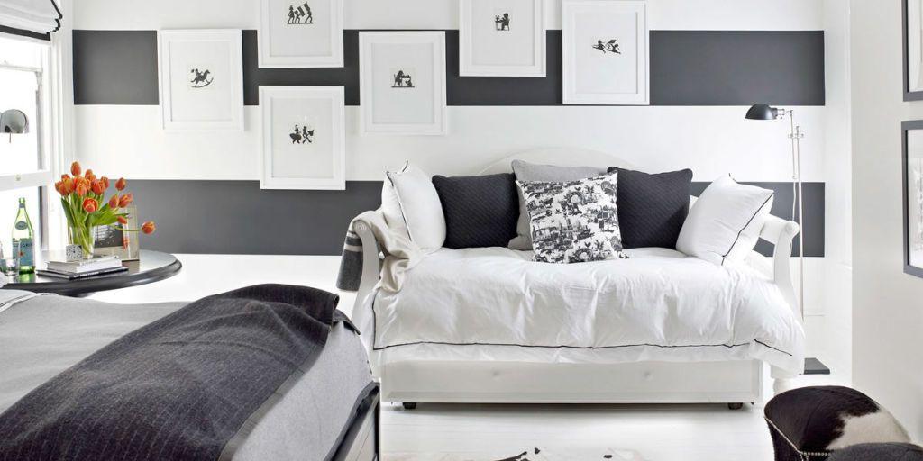Black And White Designer Rooms Black And White