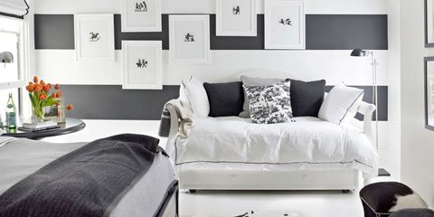 How To Decorate With Black-and-White
