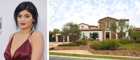 See The $2.7 Million Mansion Kylie Jenner Now Owns