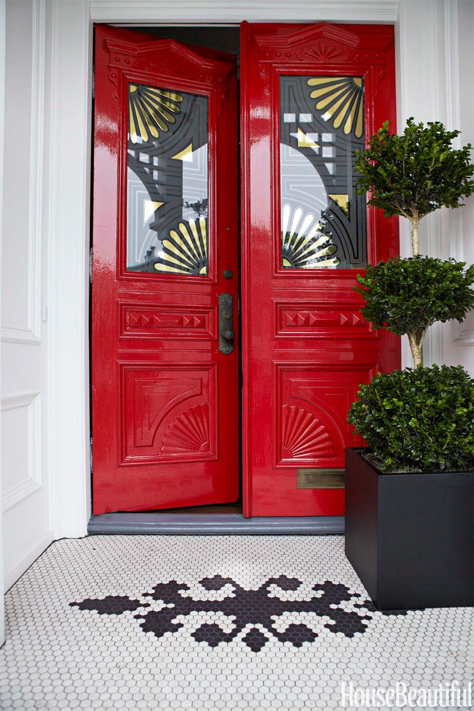 25 best front door paint colors paint ideas for front doors rh housebeautiful com