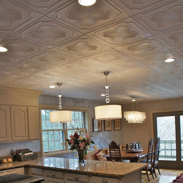Before & After: This Kitchen Gets a Gorgeous New Ceiling and More