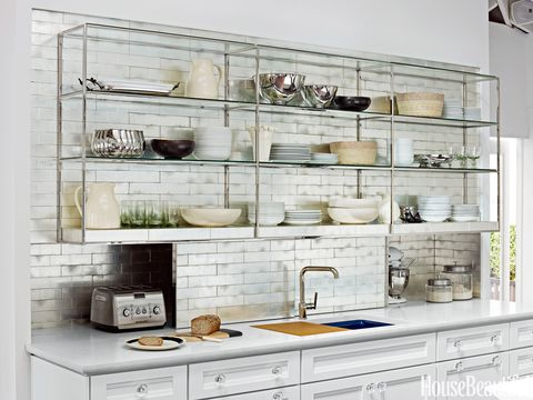 Image result for open shelving interior design