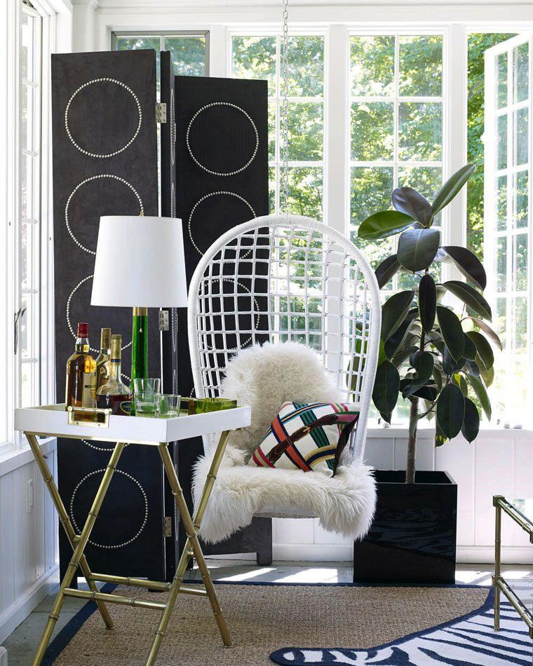 Classy Cozy Sunroom Decor Ideas Furniture Home Design: Chic Designs & Decor For