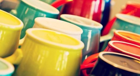 Yellow, Colorfulness, Collection, Paint, Plastic, Cylinder, Creative arts,
