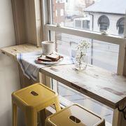 Table, House, Fixture, Home, Daylighting, Sash window, Aluminium, Kitchen utensil,
