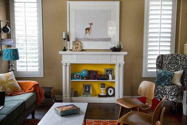 image & 12 Non-Working Fireplace Decor Ideas in 2018 - What To Do With A Non ...