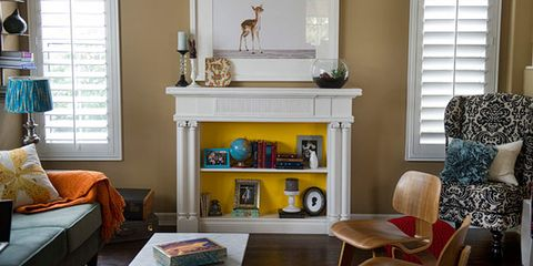 Design - Ideas to cover fireplace opening ...