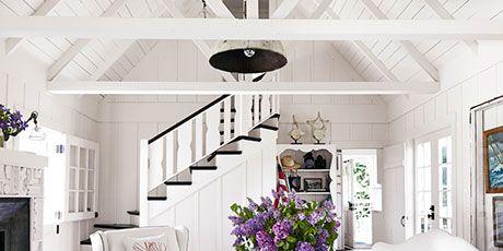 Winter White Room Designs - White Decorating Ideas