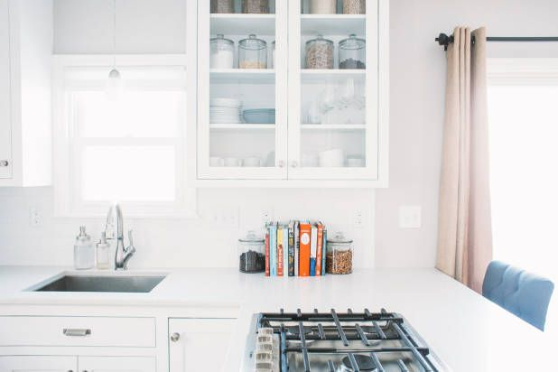 Before and After: A Food Blogger's Wow-Worthy White Kitchen