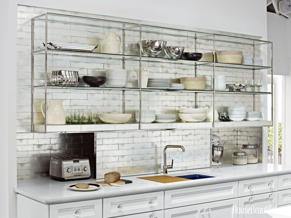 Nice Open Shelves Kitchen Design Ideas Part - 4: House Beautiful