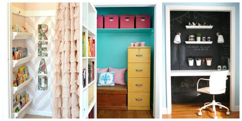 8 Closets That Aren't Closets Anymore