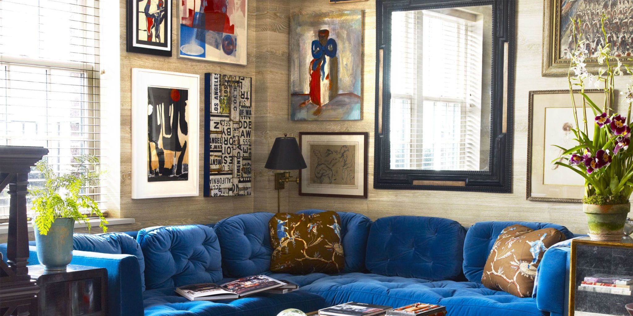 Want Ideas For Arranging Your Own Gallery Wall? Here Are 18 Examples From  Our Favorite Designers.
