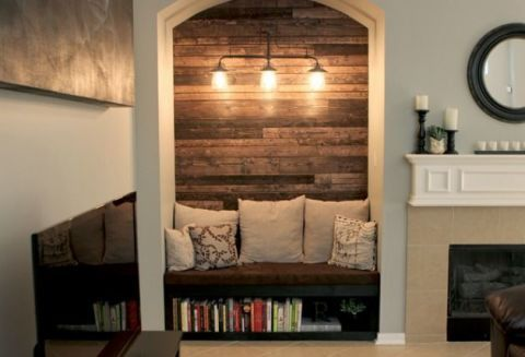 Before & After: A Perfect Solution for an Empty Alcove
