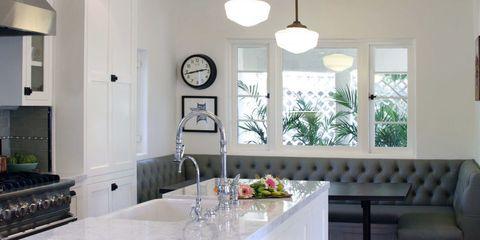 Room, Interior design, Glass, Wall, Couch, Interior design, Furniture, Light fixture, Ceiling, Countertop,