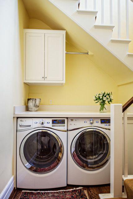 Hidden Laundry Rooms