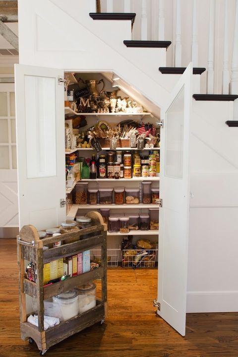 20 Stylish Pantry Ideas - Best Ways to Design a Kitchen Pantry
