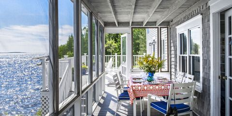A Century-Old Maine Cottage Full of Coastal Charm