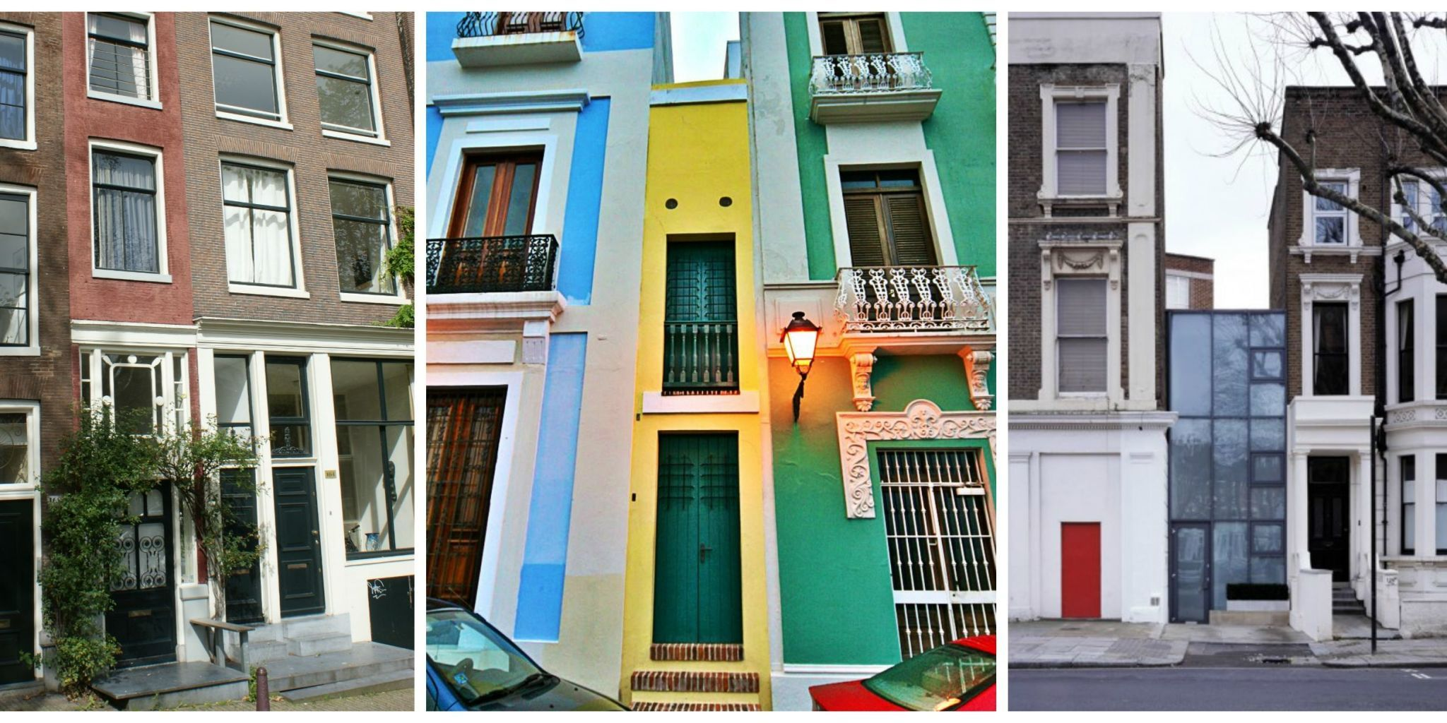 9 of the World's Skinniest Houses