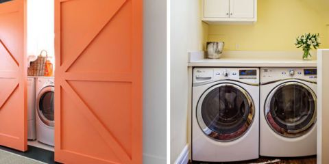 hidden laundry rooms rh housebeautiful com washer and dryer in kitchen ideas washer and dryer in kitchens in uk why
